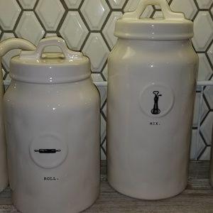 Rae dunn canister set 2